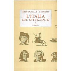 L'Italia del settecento Rizzoli le opere di [Hardcover] Indro Montanelli, Roberto Gervaso and Rizzoli