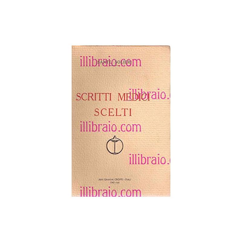 Scritti medici scelti [Paperback] SOLIERI S.